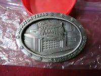 2004 SuperBowl XXXVIII Belt Buckle Canyon Lake, 78133