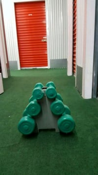 Dumbell Set w stand