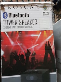 Two Bluetooth speakers/1 Troscan and 1 Craig tower Upper Marlboro, 20774
