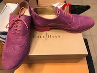 Cole Haan purple leather shoes Montréal, H3T 1N5