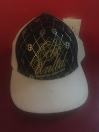 black and white fitted cap Dartmouth, B3A 1H8