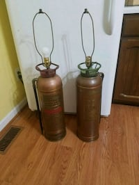 Antique soda acid fire extinguisher lamps  Fort Mill, 29715
