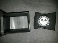 round silver-colored Michael Kors chronograph watch with box Silver Spring, 20905