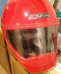 Red snoforce snowmobile helmut Great Falls, 59405