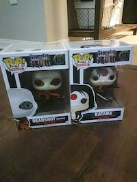 two Pop ! vinyl figures in boxes Indio, 92201