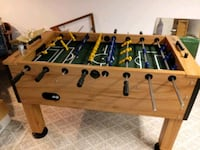 brown and green foosball table Columbus, 43231