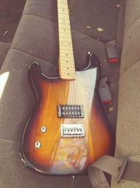 yellow and black electric guitar Citrus Heights, 95610