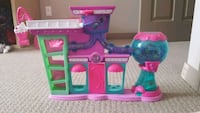 pink, purple, and teal plastic dollhouse Edmonton, T5Y 0L8