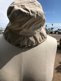 Burberry sun/rain hat.