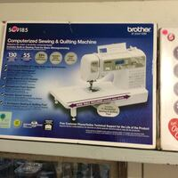 white Brother electric sewing machine box Merced, 95341
