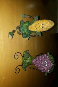 Corn & Grape Figurine