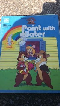 Paint with water  chip n dale Toronto, M9R 4B1
