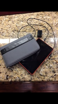 Kindle fire with case and charger