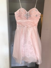 Baby pink strapless dress San Diego, 92145