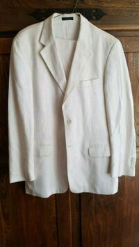 white button-up coat Edmonton, T5M