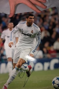 Ronaldo poster authentic signature Mississauga