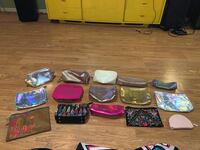 Bundle of 15 new makeup bags College Station, 77845