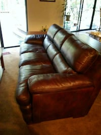 Flexsteel Leather Recliner and Couch Nevada City, 95959
