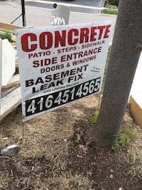 WARNING DONT USE THESE GUYS FOR Concrete installation Brampton