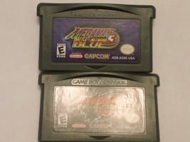 Mega Man Battle Network 3 & 5 GBA Authentic Gameboy Advance