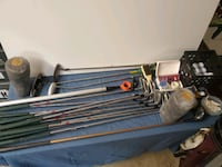 VINTAGE GOLFCLUBS AND MANY EXTRAS (HOGAN, CLEVELAND, ZEBRA, &MORE