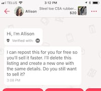 Frig off Allison - Delete this spammer Sarnia, N7T 5S5