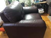 Single chair,chocolate 9-10 in good shape for pick up.  Toronto, M1R 1S3