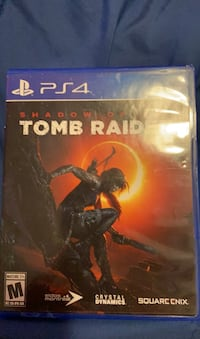 Shadow of the tomb raider ps4 game Framingham, 01701