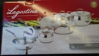 Lagostina cookware brand new Edmonton, T5H 4R2