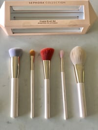 Limited Edition Sephora Crystal Makeup Brush Set