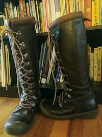 Leather  Keen Boots, Size women's 9 1/2 $50 OBO or Portland, 97213