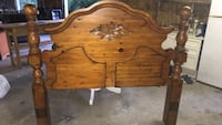Brown wooden 2-drawer chest South-West Oxford, N0J