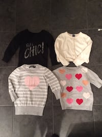 Girl sweaters and cardigan 2T Edmonton, T5T