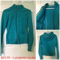 Blue zip-up jacket Orillia, L3V 1N7
