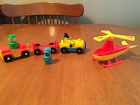 Fisher price little people vintage airport accessories  Niagara Falls, L2H