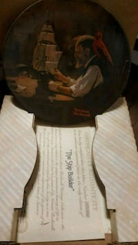 Norman Rockwell collectibles plates Los Angeles, 91405
