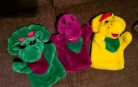 BARNEY & FRIENDS PUPPETS  North Fort Myers, 33903