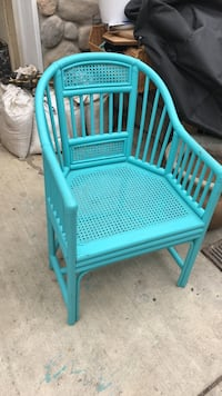 Vintage bamboo chair Santa Barbara, 93103