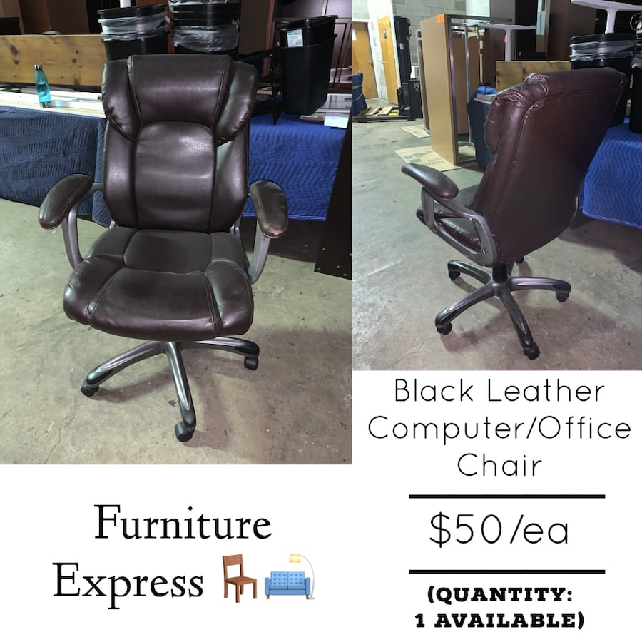 Leather Computer Desk Chair