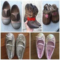 Toddler girls shoes size 9