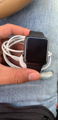 black and gray smartwatch with black strap North Chesterfield, 23225