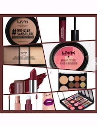 NYX AND LOTS OF OTHER BRANDS OF COSMETICS FOR SALE  Brampton, L6R 3R2
