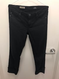 AG the Stevie cuff slim straight cuffed jeans 28 Richmond, V6X 2A2
