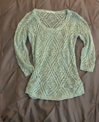 Maurices green top Stafford, 22556
