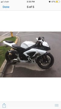 2007 Gsxr 750 PRICE REDUCED  Kelowna, V1V