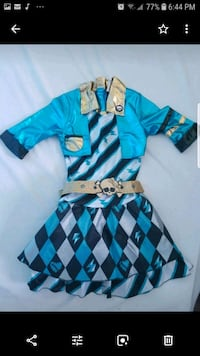 Girl's Halloween costume( monster high). Large Brampton, L6R 3A7