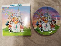 Walt Disney World 20yr. Anniversary Plate Bel Air