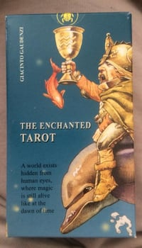 """The Enchanted Tarot"" av Giacinto Gaudenzi 6243 km"