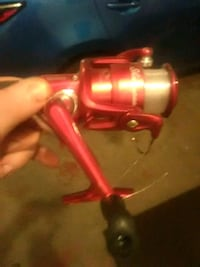 red and black fishing reel Knoxville, 21758