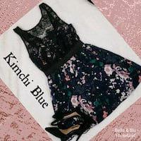 UO Kimchi Blue Floral Lace Deep V Dress Hagerstown, 21740
